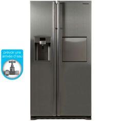 Réfrigérateur Américain SAMSUNG RSG5PUSL1/XEF, Réfrigérateur américain sur Boulanger.fr