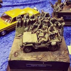 Captive Audience diorama. Unknown scale and modeler #scalemodel #plastimodelismo #scalemodekit #plasticmodel #plastimodelo #plamodel #miniatura #miniature #maqueta #maquette #modelismo #modelisme #modelism #war #guerra #guerre #bataille #diorama #hobby