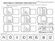 Place Value Practice Pages - Check out these common core aligned place value practice worksheets!  Great reinforcement for students working on their understanding of place value and numbers to 100.  Use the pages as independent work, a math center or as a take home activity, they also work great as an assessment!