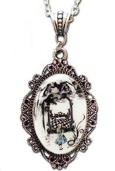 Inked Boutique - Alice Cameo Necklace by Alkemie