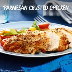 Kids can spread the mayo & sprinkle the breadcrumbs.  You preheat the oven & bake for 20 minutes.  It's Parmesan Crusted Chicken night, folks!