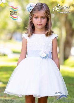 Vestido arras ARTESANIA AMAYA de tul modelo 97624