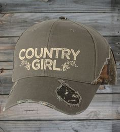 Country Girl® Frayed Camo Cap
