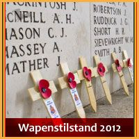 Wapenstilstand in Ieper 2012.