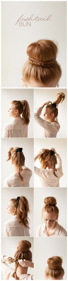25 Step By Step Tutorial For Beautiful Hair Updos