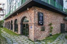 벽돌 인테리어 / 커피전문점 창업커피전문점 인테리어 벽돌 인테리어가 돋보이는커피전문점 카페 인테리어...