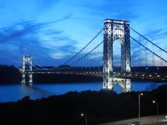 Fort Lee, Washington Heights, Hudson River, George Washington Bridge, New Jersey, Memorial Day, New York City, Travel, Viajes
