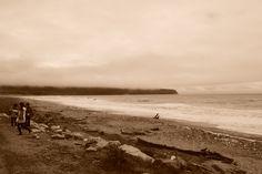 https://flic.kr/p/Ba3oXZ   NZ 2015   Familia junto a playa inhóspita