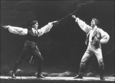 Terrence Mann and Douglas Sills in The Scarlet Pimpernel