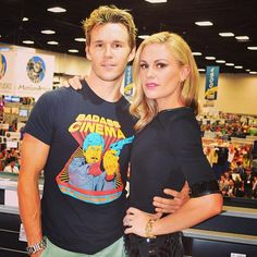 Ryan Kwanten and Anna Paquin at 2013 San Diego Comic Con #TrueBlood #SDCC