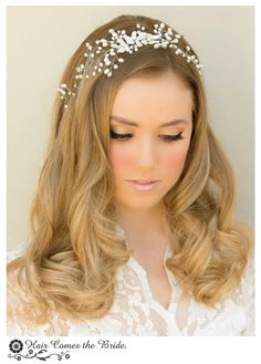Hair Comes the Bride - Pearl