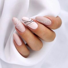 15 shaped stylish nail colors that you can try out .- 15 geformte stilvolle Nagelfarben die Sie zum Probieren inspirieren 15 shaped stylish nail colors to inspire you to try # hair up - Cute Acrylic Nails, Cute Nails, Pretty Nails, Matte Nail Art, Pastel Nails, Hair And Nails, My Nails, Shellac Nails, Nail Manicure