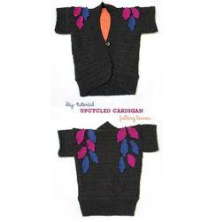 Tutorial: Falling Leaves Cardigan for little girls