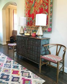 Eclectic mix of furn