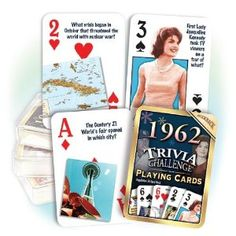 1962 Playing Cards.