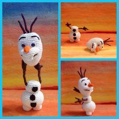 Olaf of Frozen amigurumi pattern