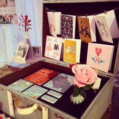 Messestand auf einer Hochzeitsmesse Illustrations, Frame, Home Decor, Getting Married, Invitations, Homemade Home Decor, A Frame, Illustration, Frames