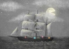 """""""Ghost Ship"""" by Terry Fan"""