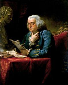 Benjamin Franklin, David Martin, 1767