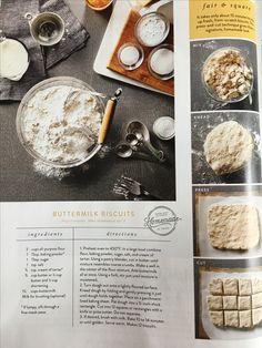 Joanne Gaines buttermilk biscuits