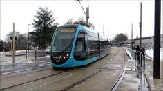 Sur le tram de Besançon