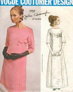 1960s Vogue Paris Original 1757 Vintage Sewing by ALadiesShop, $75.00