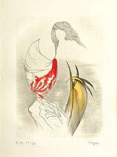 Toyen (Marie Čermínová, Fragments of Dreams (Studna ve věži střepy snů), N/D Dada Art, Popular Artists, Art Academy, Magritte, Wassily Kandinsky, Surreal Art, Dali, Honesty, Painters