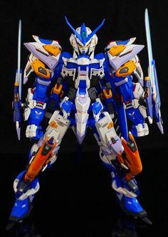 GUNDAM GUY: 1/100 Gundam Astray Blue Frame 3rd - Resin Conversion Build