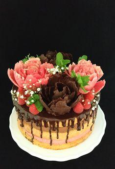 Cake, Desserts, Food, Raspberries, Summer, Tailgate Desserts, Deserts, Kuchen, Essen