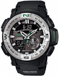 6a8128b6a3e2  カシオ CASIO 腕時計 PROTREK ツインセンサー搭載 PRG-280-1JF メンズ Reloj