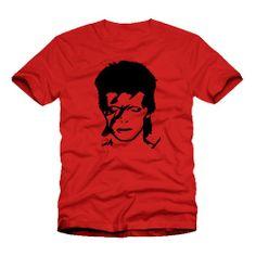 Ziggy Stardust David Bowie T Shirt
