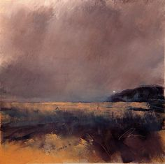 "Distant Fog by Richard Morin Oil ~ 12"" x 12"""