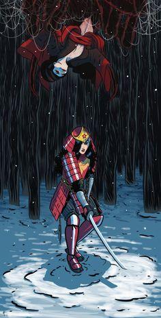 Japanese Wonder Woman - Artyom Topilin