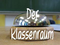 Learn German video - Der Klassenraum = Classroom