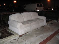 Image result for cement couch
