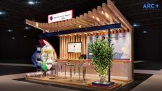 Exhibit Design for Mitsui Sumimoto Insurance at Trade Fair Brazil