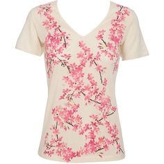Balenciaga Cherry Blossom-Print T-Shirt -- Out of stock as of 02/17/14. :'( Buuuut, good inspiration!!!