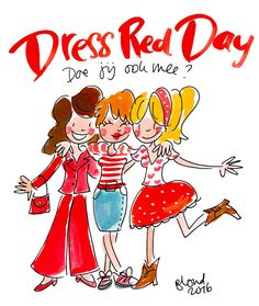 Dress Red Day by Blond-Amsterdam