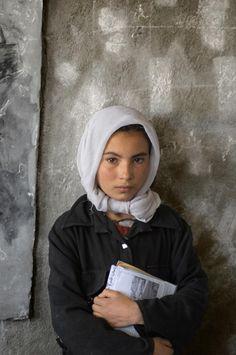 School   Steve McCurry / Bamiyan Province, Afghanistan