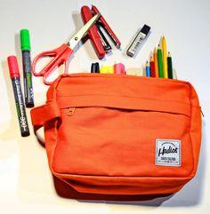 hadios big pouch orange #pouch #pencilcase