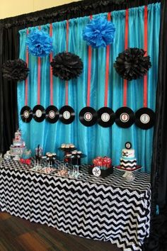 Rockabilly baby Cake Ideas | Design, Decor and Planning: Fearon May Events