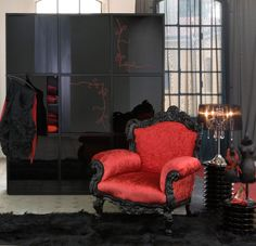 braxton and yancey: Moulin Rouge! Room Décor – Bordello Chic, Artist's Loft, and Bohemian