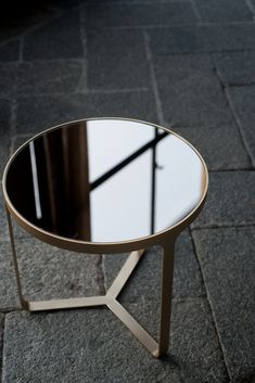 CAGE Table basse ronde Collection Cage by Tacchini Italia Forniture design Gordon Guillaumier