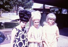 """Judy and Jeanie were doing it right but Marcie was kicked out of the """"High Hair Club"""" for not going high enough."""