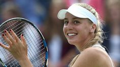 #tennis #news  Broady wins first WTA match since April