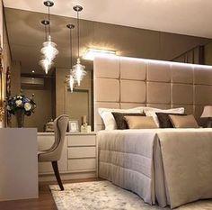 Quarto de casal lindo e acolhedor by Glanz Interiores. Amei! @pontodecor Via @maisdecor_ www.homeidea.com.br Face: /homeidea Pinterest: Home Idea #pontodecor #maisdecor #projetos #igers #arquitetura #ambiente #archdecor #homeidea #archdesign #projetos #tbt #home #homedecor #pontodecor #homedesign #photooftheday #love #interiordesign #interiores #cute #construcao #decoration #world #lovedecor #architecture #archlovers #inspiration #project #cozinha