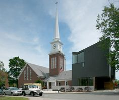 Korean Church in Brookline, MA  by Brian Healy Architects (Paxton)