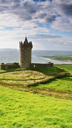 Castillo de Doolin, Irlanda
