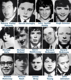 26 unarmed civil-rights protesters and bystanders were shot by soldiers of the British Army. Thirteen males, seven of whom were teenagers, died immediately or soon after, while the death of another man four-and-a-half months later was attributed to the injuries he received on that day. Two protesters were also injured when they were run down by army vehicles.  Five of those wounded were shot in the back.