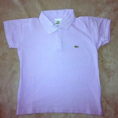 Lacoste shirt. Brand new! Brand new with out tags Lacoste shirt, lilac color, perfect for spring-summer time. 100% cotton.  Size 5 women Love to bundle. Lacoste Tops